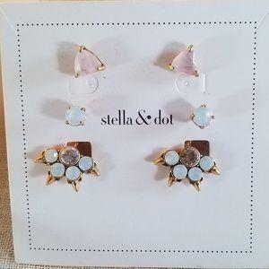 Stella & Dot Eva Ear Jacket earrings